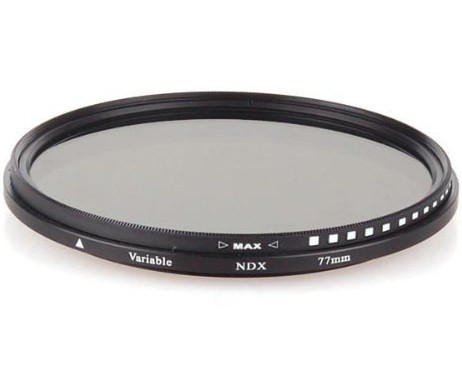 Светофильтр Variable ND 77 мм Massa (ND2-ND400)